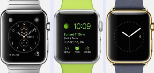 Apple Watch (アップルウォッチ)、日本や米国で4/24から発売!