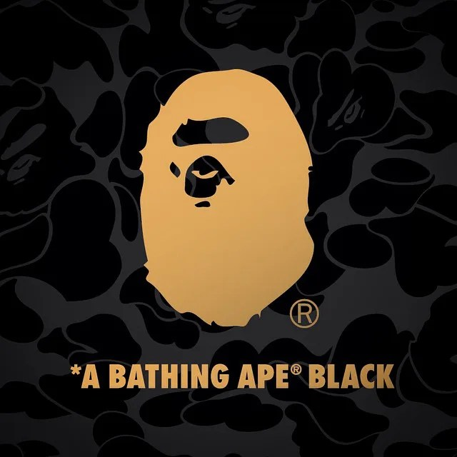 フェイスブックアカウントで「ア ベイシング エイプ ブラック (A BATHING APE BLACK)」を発表!