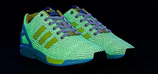 蛇柄が闇夜で光る!オリジナルス ゼットエックスフラックス スネーク グロー/カントリー (adidas Originals ZX FLUX SNAKE GID/CTRY) [S31576] [S31577]