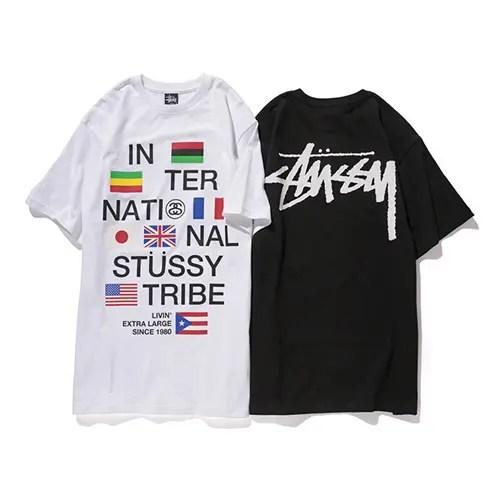受注生産TEE!ステューシー (STUSSY)からINTERNATIONAL STUSSY TRIBEと世界の国旗を絡めた「STUSSY FLAGS TEE」が発売!