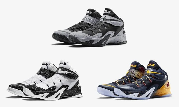 US NIKE発売!ナイキ レブロン ズーム ソルジャー 8 フライイーズ (NIKE LEBRON ZOOM SOLDIER VIII FLYEASE) [805894-002] [805894-100] [805894-476]