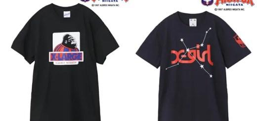 X-largeとX-girlがアルビレックス新潟とのコラボTEEを発売! (エクストララージ エックスガール ALBIREX)