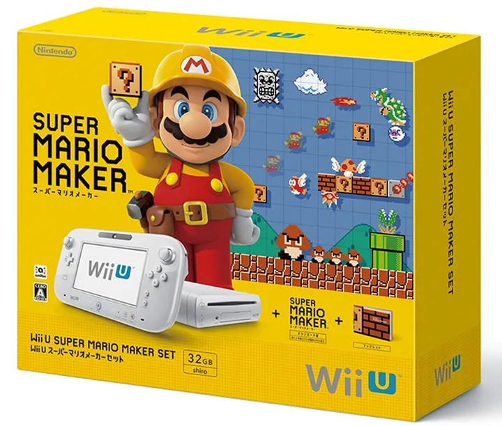 自分で作ったコースで遊べる「Wii U スーパーマリオメーカー」が9/10に発売!