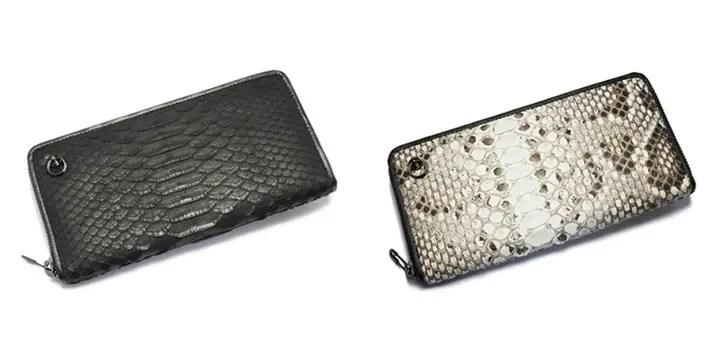ジャムホームメイド (JAM HOME MADE)から、リアルパイソンレザーを使用した長財布が発売!