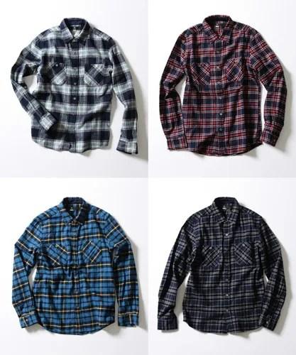 WEB限定!BEAUTY&YOUTH インディゴ チェックシャツが予約開始! (ビューティアンドユース)