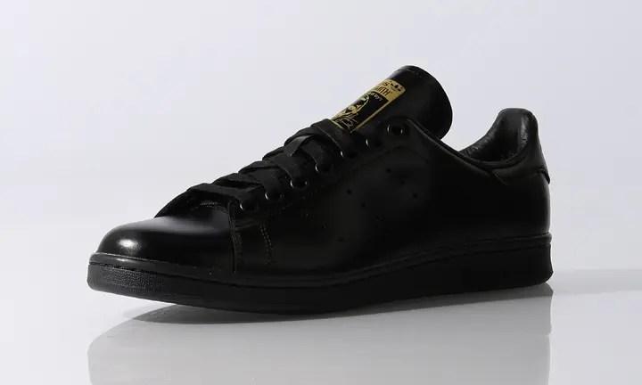 超高級レザーを使用した極黒スタンスミスが発売中!(アディダス オリジナルス adidas Originals STANSMITH TF) [S74934]