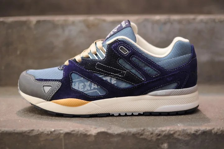 a3c6c1df26a 商品名 GARBSTORE × REEBOK VENTILATOR II 価格 各£109 色  STORMY BLUE WICKED BLUE CYCLONE  GREY   WHITE WICKED BLUE DESERT KHAKI  商品番号 M48359 M48360
