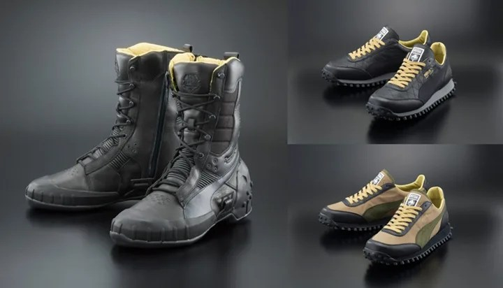 9/2発売!プーマとメタルギアソリッドがコラボ!「PUMA for METAL GEAR SOLID V SNEAKING BOOT X MGSV & FASTRIDER X MGSV LEATHER」