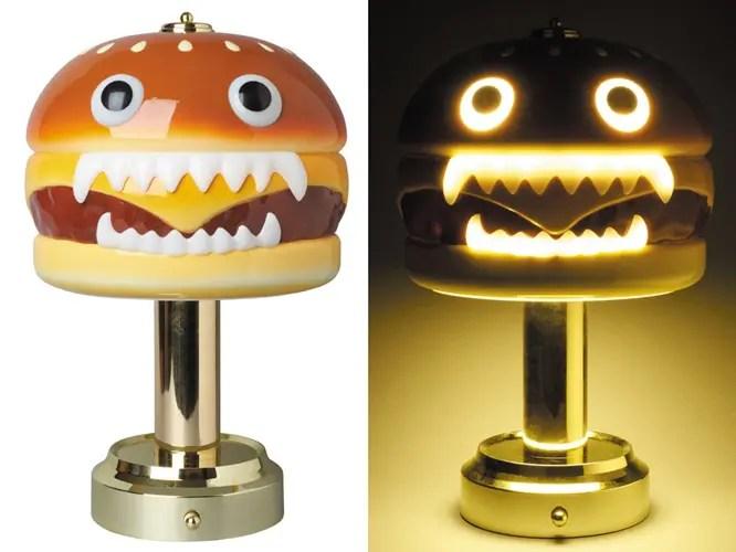全高約300mmの巨大ハンバーガーランプ「UNDERCOVER HAMBURGER LAMP」が9/26から発売!(アンダーカバー ハンバーガー ランプ)