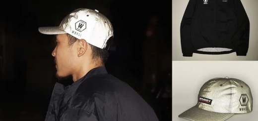 STUSSY × W-BASEのコラボアイテム「Reflective 6 Panel Cap」「Cycling Jacket」が9/26から発売!(ステューシー ダブルベース)