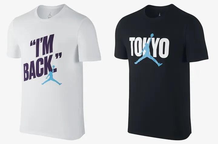 マイケル・ジョーダン来日記念!「MJ VISIT」としてNIKE Tシャツが2型発売!(ナイキ Michael Jeffrey Jordan)