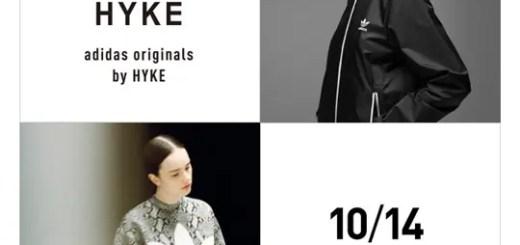 【10/14 0時~】adidas Originals by HYKE 2nd アイテムがアディダスオンラインで発売!(ハイク)