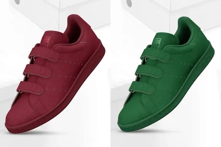 オールカラーが選択可能!mi adidas STAN SMITHがカスタマイズ開始!(マイアディダス スタンスミス)