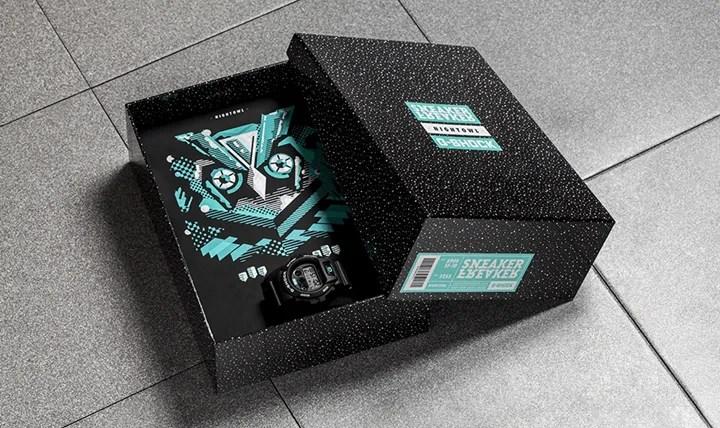 """海外11/20発売!SNEAKER FREAKER x G-SHOCK """"NIGHTOWL"""" (スニーカー フリーカー ジーショック Gショック """"ナイトウェル"""")"""
