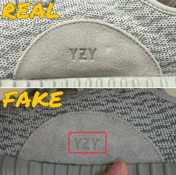 """【やっぱりフェイクは出るよね】adidas Originals YEEZY 350 BOOST LOW """"MOONROCK"""" FAKE (アディダス カニエ ウェスト イージー ブースト """"ムーンロック"""" 偽物 Kanye West) [AQ2660]"""