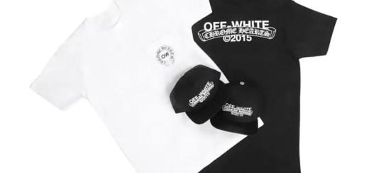 OFF-WHITE C/O VIRGIL ABLOH × CHROME HEARTS 2015 コレクションがリリース! (オフホワイト クロムハーツ)