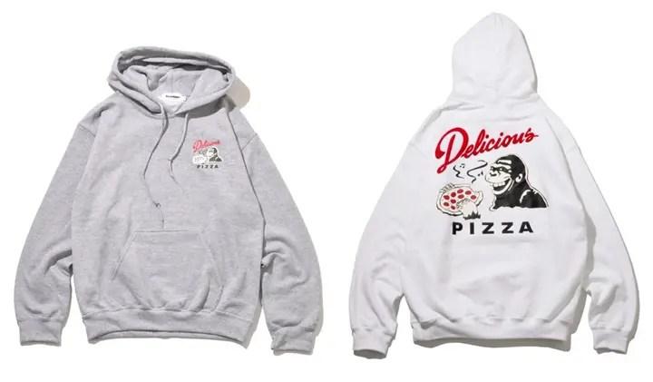 エクストララージ × デリシャス ピザが再び!11/28から「プルオーバーフードスウェット」発売! (X-large × Delicious Pizza)