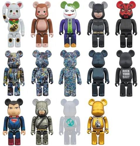 ダースモール、バットマン、ジョーカー等、受注生産限定ベアブリック2015年12月度! (BE@RBRICK)