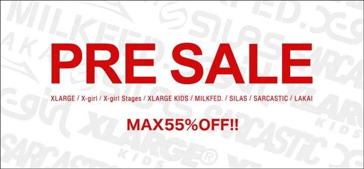 【MAX 55% OFF】X-large、X-girl、SILAS等のcalifでプレセールが開催中! (エックスガール エクストララージ サイラス Pre Sale)