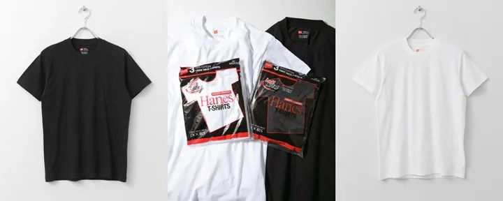 Hanes × URBAN RESEARCH DOORS 3P-Tシャツが3月上旬発売! (ヘインズ アーバンリサーチ ドアーズ)