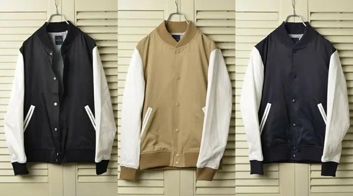 SHIPS JET BLUEからミリタリーウエアなどに使われるナイロンツイルを使用した「スタジアムジャケット」が2月下旬発売! (シップス ジェット ブルー)