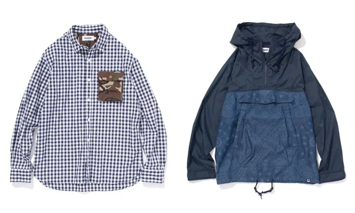 X-largeから「DENIM ANORAK」「L/S MILITARY POCKET SHIRT」が2/12に発売! (エクストララージ)
