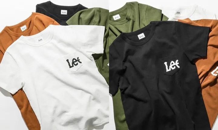 4月中旬発売!Lee × URBAN RESEARCH DOORS Print Pocket T-SHIRTS (リー アーバンリサーチ プリント ポケット Tシャツ)