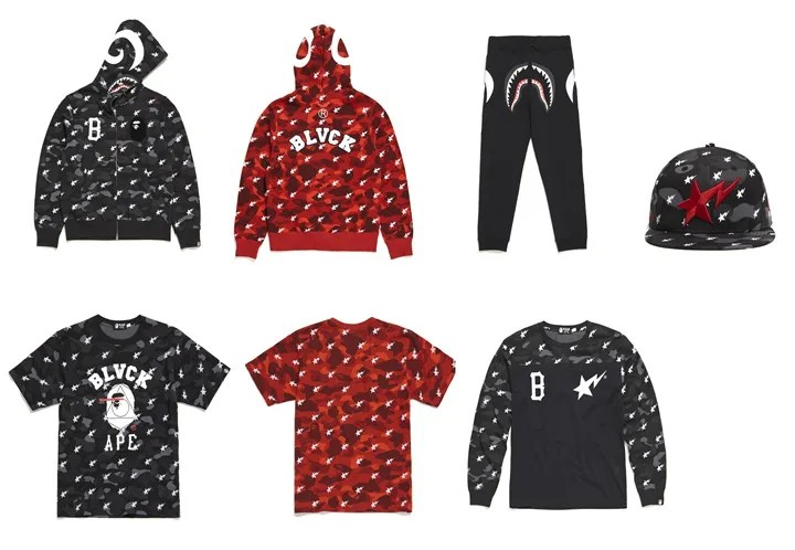 BLACK SCALE × A BATHING APE COLLECTIONが2/20からリリース!(ブラックスケール エイプ)