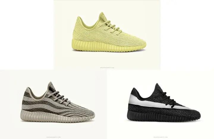 【続報】adidas Originals YEEZY 350 BOOST LOW ニュー3カラーが発表!  (アディダス オリジナルス イージー ブースト)