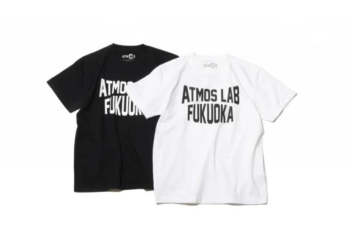 2/27発売!atmos Hakataオープン記念 「ATMOSLAB FUKUOKA CITY TEE (FUKUOKA LIMITED)」がリリース! (アトモスラボ Hakata 博多)