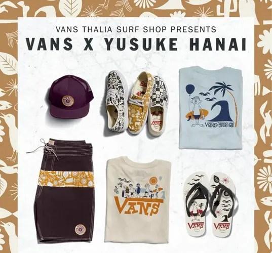 海外2/19発売!VANS x 花井祐介 カプセルコレクション! (バンズ Yusuke Hanai)