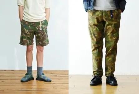 """【今季オリジナル カモフラ】ザ・ノースフェイス パープル レーベル """"COOLMAX Stretch Twill Camouflage Print TAPERED PANTS/Shorts""""! (THE NORTH FACE PURPLE LABEL)"""