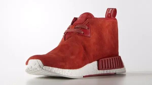 【サンプル】adidas Originals NMD MID SUEDE Red (アディダス オリジナルス エヌ エム ディー ランナー ミッド スエード レッド) [S79147]