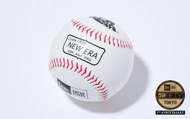 【NEW ERA TOKYO 5th ANNIVERSARY】限定オリジナル野球ボールがノベルティとして! (ニューエラ 東京)