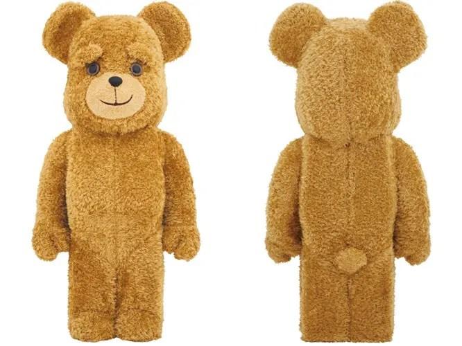 より本物に近いモフモフの着ぐるみ仕様 70cm TED BE@RBRICK 1000% (テッド ベアブリック)