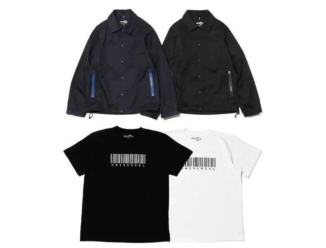 3/5発売!ATMOSLABから「VENTILE Gabardine Coaches Jacket」「UNIVERSAL Tee」が登場! (アトモスラボ)
