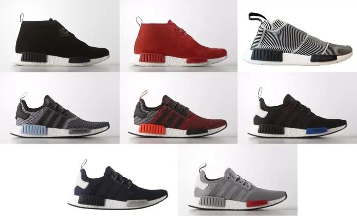 一挙8モデル国内3/17発売!adidas Originals NMD_R1/CHUKKA/CS1 (アディダス オリジナルス エヌ エム ディー ランナー/チュッカ/シティ ソック) [S79146,7][S79150][S79158,9,60,61,62]