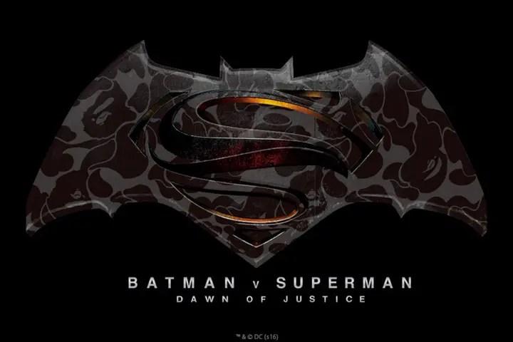 A BATHING APE × バットマン vs スーパーマン ジャスティスの誕生がコラボ!3/25からESTNATION Roppongi Hillsで限定TEEが発売! (エイプ)