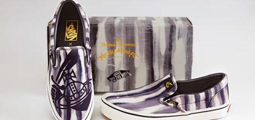 4月下旬!Vivienne Westwood Anglomania × VANS SLIP-ONが発売! (ヴィヴィアン・ウエストウッド アングロマニア バンズ スリッポン)