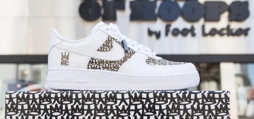 ERIC HAZE × NIKE AIR FORCE 1 LOWがHouse Of Hoops by Foot Locker限定で4/17からリリース! (エリック ヘイズ ナイキ エア フォース 1 ワン ロー)