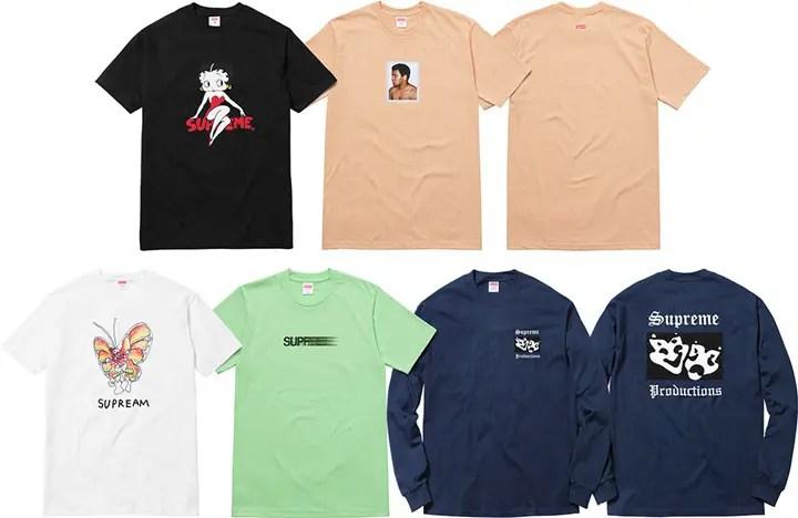 【速報】4/23発売!SUPREME × モハメド・アリ & Motion Logo TEE/Betty Boop TEE/Spring TEE (シュプリーム Muhammad Ali モーションロゴ/ベティ ブープ)