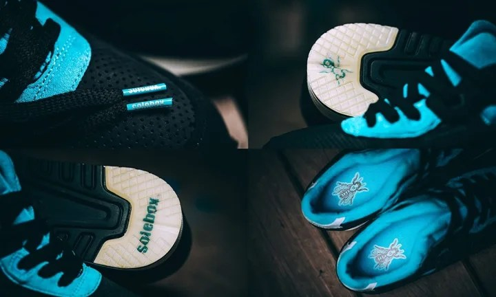 """4/30発売!SOLEBOX × ASICS Tiger GEL-LYTE III """"BLUE CARPENTER BEE"""" (ソールボックス アシックス タイガー ゲルライト 3 """"ブルー カーペンター ブルー"""")"""