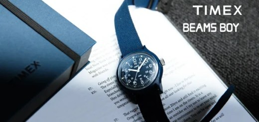 未復刻のネイビーカラーが4/28先行発売!ENGINEERED GARMENTS × TIMEX × BEAMS BOY