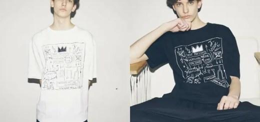 5月下旬発売!BASQUIA × monkey time コラボワイドTシャツ、ポロキャップが展開! (バスキア モンキータイム)