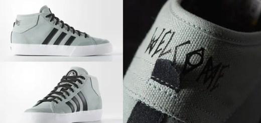 WELCOME SHOES × adidas Originals MATCH COURT MIDが海外展開! (ウェルカム シューズ アディダス オリジナルス マッチ コート ミッド) [AQ8703]