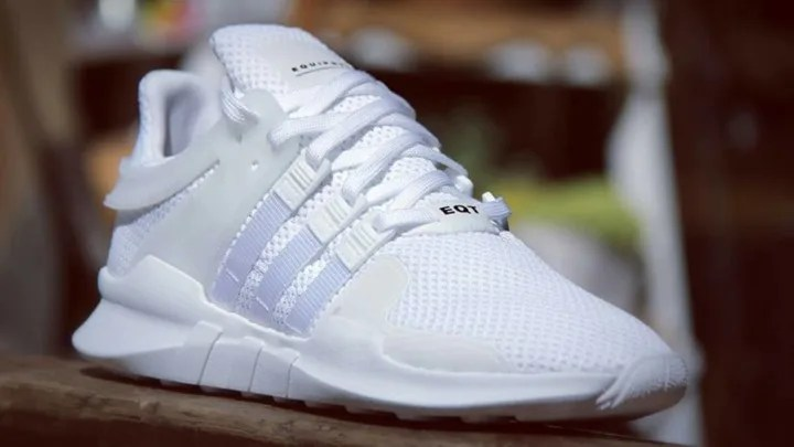 """adidas Originals EQT 91-16 """"Triple White"""" (アディダス オリジナルス エキップメント """"トリプル ホワイト"""")"""