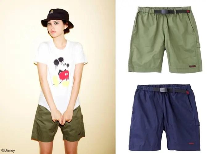 X-girl x GRAMICCI PAINTER SHORT PANTSが6月中旬発売! (エックスガール グラミチ)