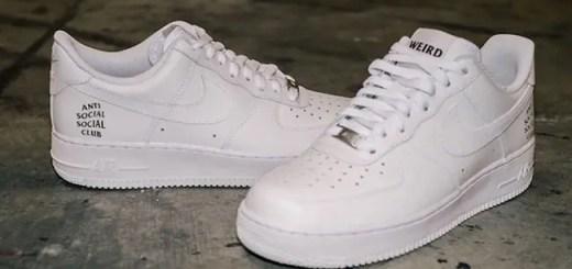 "ANTI SOCIAL SOCIAL CLUB × NIKE AIR FORCE 1 LOW ""White"" (アンチ ソーシャル ソーシャル クラブ ナイキ エア フォース 1 ロー ""ホワイト"")"