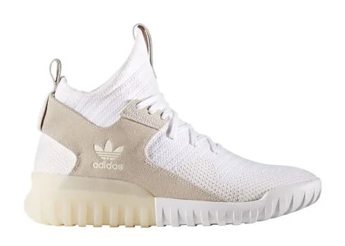 """海外展開!アディダス チュブラー X 新色 """"ランニング ホワイト/タン"""" (adidas TUBULAR X """"Running White/Tan"""") [S80130]"""