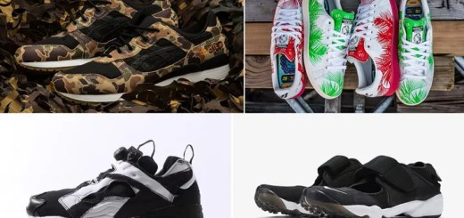 "【まとめ】6/25発売の厳選スニーカー!(ATMOS x ASICS Tiger GEL-LYTE III ""Duck Camo"")(NIKE AIR RIFT ANNIVERSARY QS)(adidas Originals × Pharrell Williams x BBC ""Palm Tree Pack"")(REEBOK INSTA PUMP FURY OB ""OVER Branded"" Pack)他"